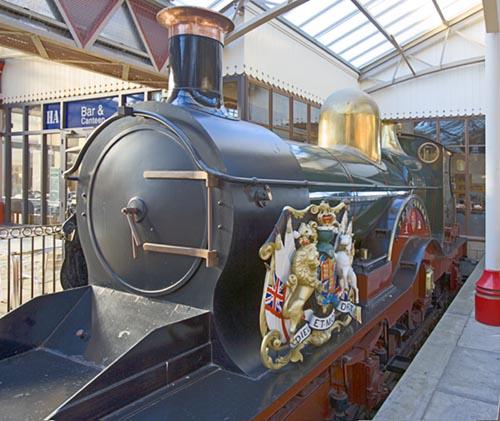 Queen Victorias Achilles Class Locomotive Gwr